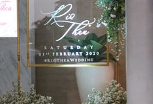 Morrissey - Wedding of Rio & Thea by Morrissey Hotel