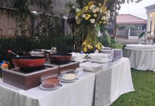 Veya & Kevin by DASA Catering