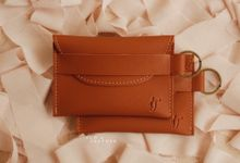 Inas and Taufan Card Holder by Yuo And Leather