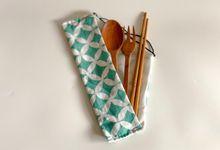 Souvenir pernikahan sendok garpu sumpit kayu by Moria Invitation