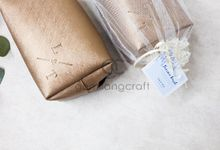 boxy pouch packaging tille by Gemilang Craft
