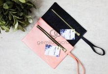 dakota pouch for witia & agung by Gemilang Craft