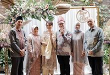 The Engagement of Fajar & Poppi by Kayu Kayu Restaurant