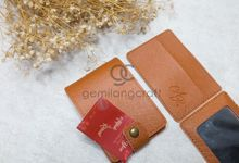 mirror pouch for alifah & rizal by Gemilang Craft