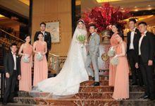Andrew & Clanita - Elegant Camel by MALVA Bridesmaids