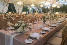 Wedding Party at Alila Villa Uluwatu by Bali Catering Company