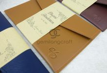 premium envelope packaging roll paper for dhanni & henderson by Gemilang Craft