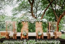 The Wedding of Chika & Yandy by Decor Everywhere