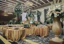 COMPILATION OF CATERING DECOR by  Menara Mandiri by IKK Wedding (ex. Plaza Bapindo)