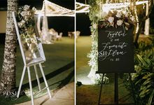Sarah & Charles by Sweetbella Florist & Decoration