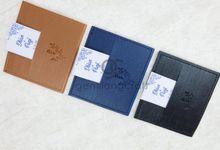premium card wallet for Dhian & panji by Gemilang Craft