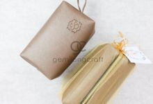 premium boxy pouch packaging tille for Esa & Syarif by Gemilang Craft