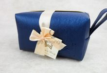 premium boxy pouch paackaging ribbon for willyam & windy by Gemilang Craft