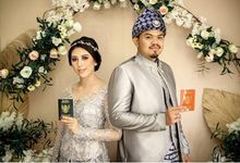 WEDDING OF AMEL & DIMAS by VAIA