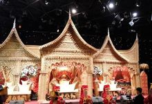 Traditional Wedding Reception at Dome Harvest Lippo Karawaci Tangerang by Dome Harvest