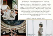 Wedding Testimony at Dome Harvest Lippo Karawaci Tangerang by Dome Harvest