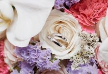 Mr F and Mrs N Wedding Day by Vandelina Brides