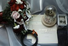 Mrs R and Mrs T Wedding Day by Vandelina Brides