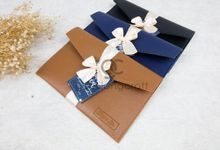 premium envelope upgrade packaging ribbon by Gemilang Craft