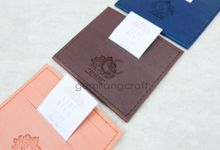 card wallet for sari & reka by Gemilang Craft