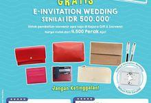 Beli Souvenir Gratis Invitation by Kejora Gift & Souvenir