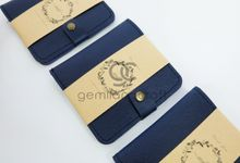 b-wallet packaging roll paper for dimas & yemimah by Gemilang Craft