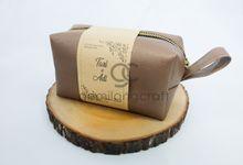 boxy premium packaging roll paper for tari & adi by Gemilang Craft