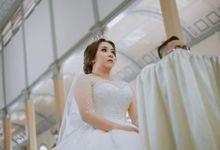 Wedding Bolero for Bride Mrs.Ririn by Arthaniaxpink