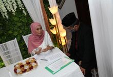 Akad Nikah  (New Normal) Farida & Luki by MC Najibah Fauzi