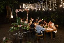 The Wedding of Reynaldo & Cecilia by Tong Hua Event Planner
