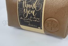 boxy premium packaging roll paper for tomy & lida by Gemilang Craft