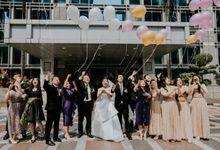 INTERNATIONAL WEDDING OF ANDRYAN & CALANDRA by IKK Wedding Venue