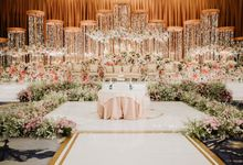 INTERNATIONAL WEDDING OF ANDRYAN & CALANDRA by Skenoo Hall Emporium Pluit by IKK Wedding