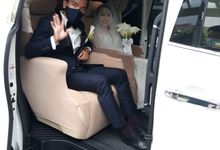 Amelia & Mario's wedding 9 Okt 2020 by Velvet Car Rental