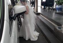 Amelia & Mario's wedding 9 Okt 2020 by Velvet Car Rental