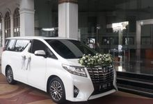 Hendra & Shinta's wedding 1 Nov 2020 by Velvet Car Rental
