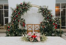 Wedding at home by The Journey Decor