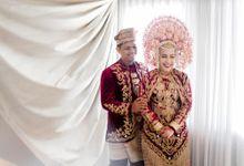 The Wedding of Yoan and Metrizal by LUZIE Wedding