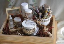natural rustic theme in ash tray by louveartisantea