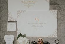 The Wedding of Edward and Indri by Hello Elleanor