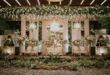 Sundanese Akad and Javanese Reception Wedding of Bella and Adit by  Menara Mandiri by IKK Wedding (ex. Plaza Bapindo)