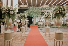 Sundanese Akad and Javanese Reception Wedding of Bella and Adit by  Menara Mandiri by IKK Wedding (ex. Plaza Bapindo)