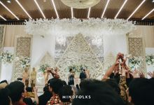 Tomo & Widya's Wedding by  Menara Mandiri by IKK Wedding (ex. Plaza Bapindo)