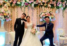 Host-ing Wedding Reception Of Chandra & Ivani by Ws Entertainment