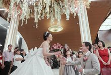 The Wedding of Michelly & Raymond by  Menara Mandiri by IKK Wedding (ex. Plaza Bapindo)
