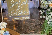 SARAH & DISKA by Usherwedding.id