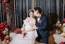 Michael & Dewi Wedding Decoration by Valentine Wedding Decoration