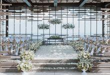 Rustic Exclusive Wedding Ceremony & Dinner Decoration by Bali Wedding Service