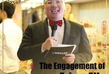 Engagement Eric & Elly by JIMMY & LIECHEN MC and Magician Wedding Specialist