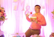 Engagement Kristina & Marvin by JIMMY & LIECHEN MC and Magician Wedding Specialist